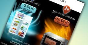 Emailing pour des produits de la marque Severin et Comfee