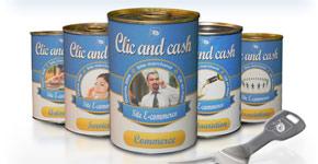 Emailing de lancement des produits Clic and Cash