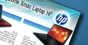 Emailing pour les produits de la marque HP COMPAQ