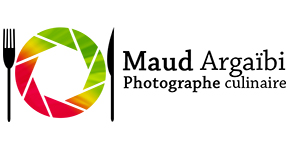Logo de la photographe culinaire Maud Argaibi
