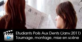 Emission Etudiants Poils aux dents janvier 2011 diffusée sur Télénantes