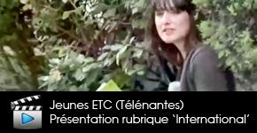 numéro pilote Jeunes ETC de Télénantes sur un projet macédonien