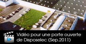 Video pour une journée portes ouvertes de Disposelec au cinéma UGC de saint herblain en octobre 2011